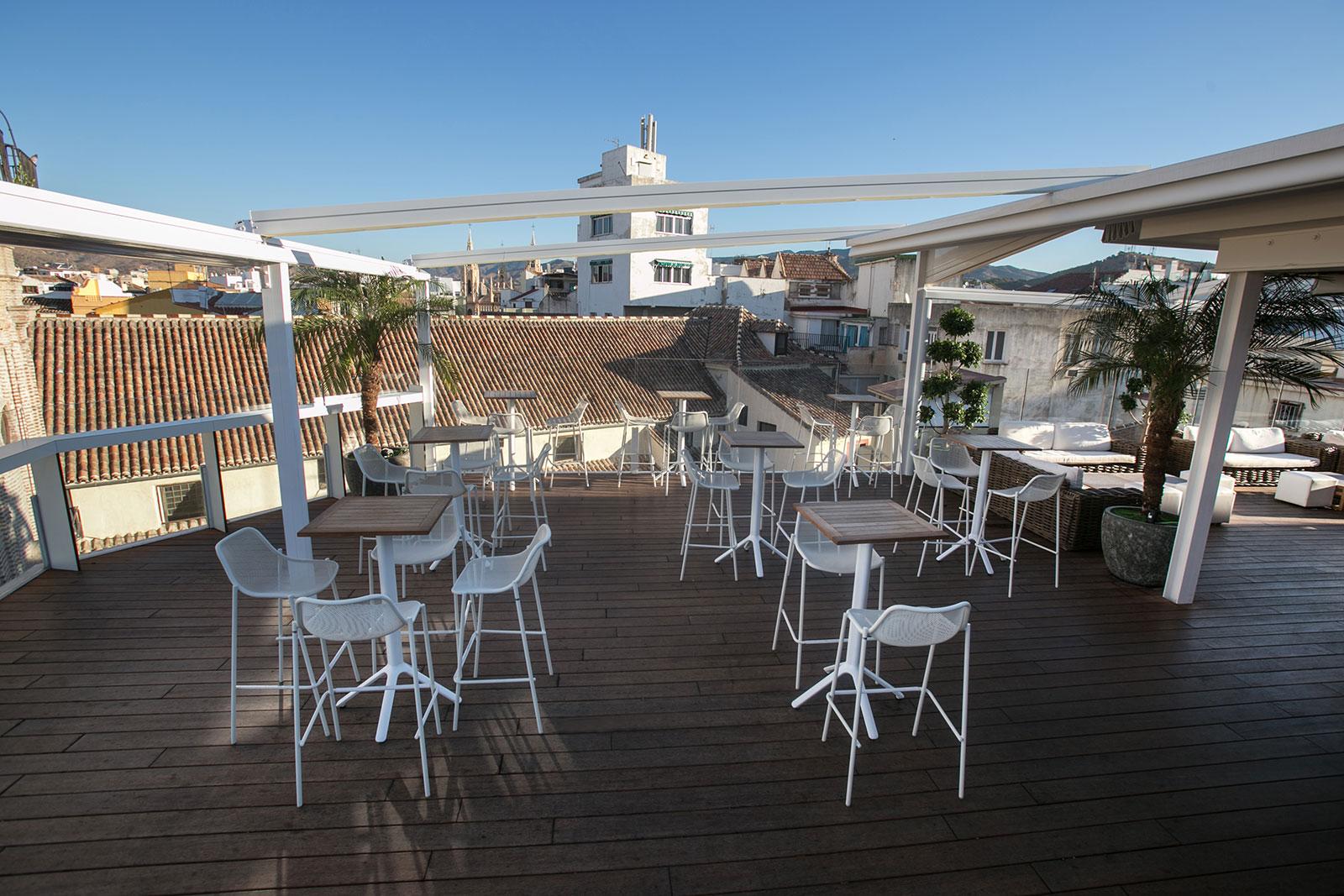 Mph Galeria Terraza Sanjuan 02 Hotel Málaga Premium