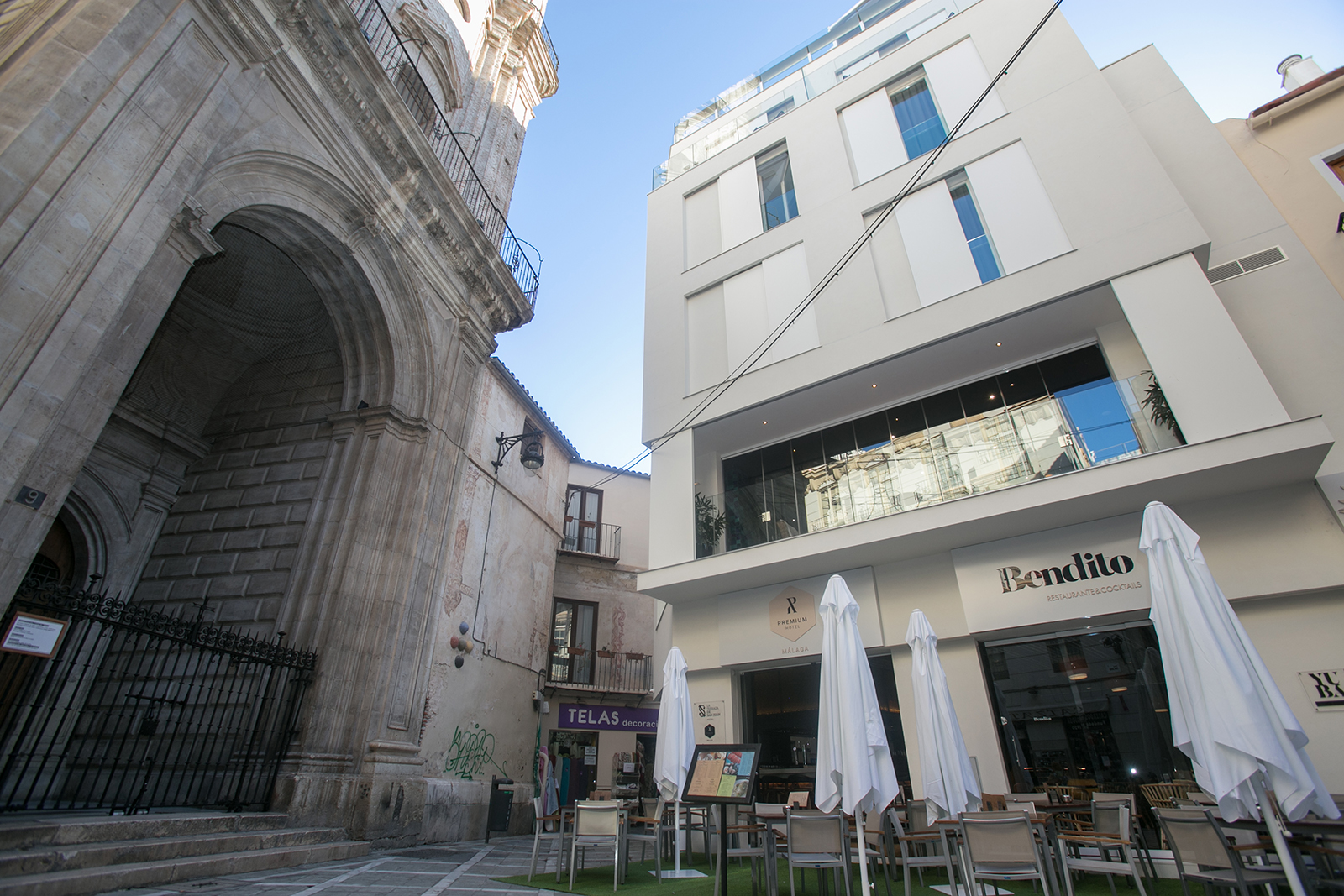 Malaga premium hotel photo gallery our hotel on the for Hotel malaga premium