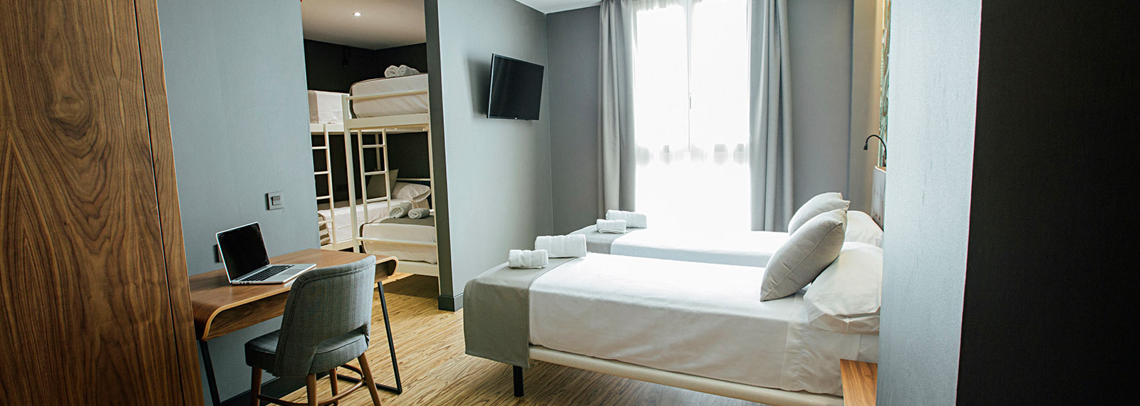 Hotel boutique habitaci n familiar en m laga premium hotel for Habitacion familiar en zaragoza