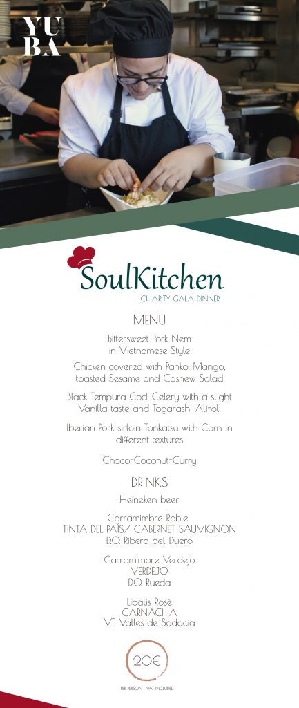 Soulkitchen Menu