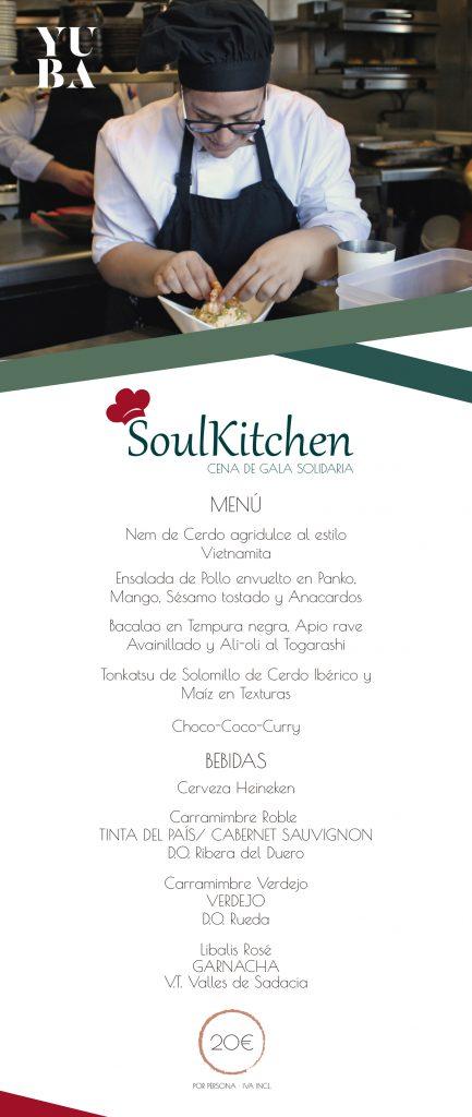 Menú de Soulkitchen