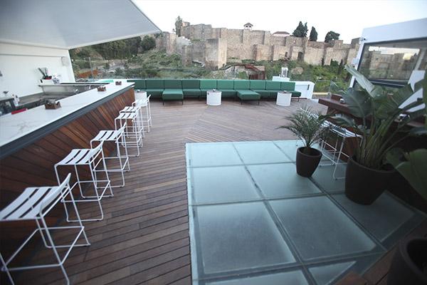 Mejores Terrazas Málaga Terrazas Málaga Hotel Málaga Premium