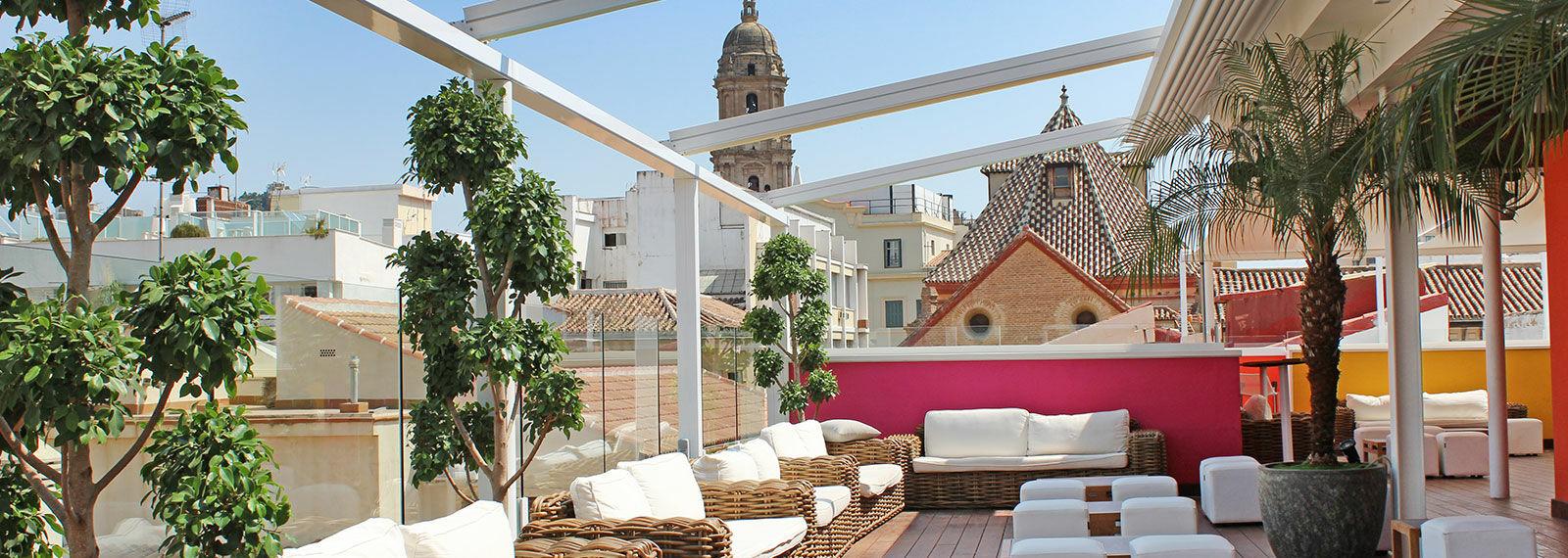 La Terraza De Málaga Premium Hotel Chillout De Diseño Y