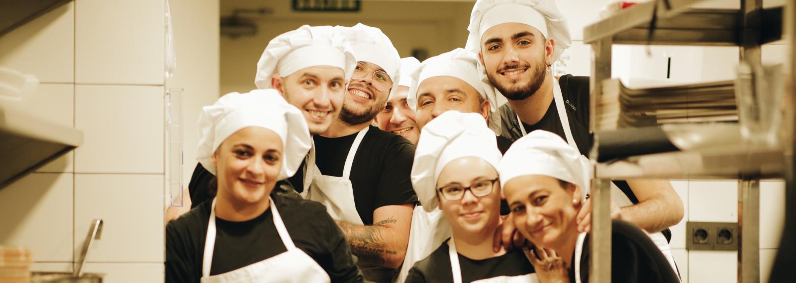 Integrantes del curso de cocina