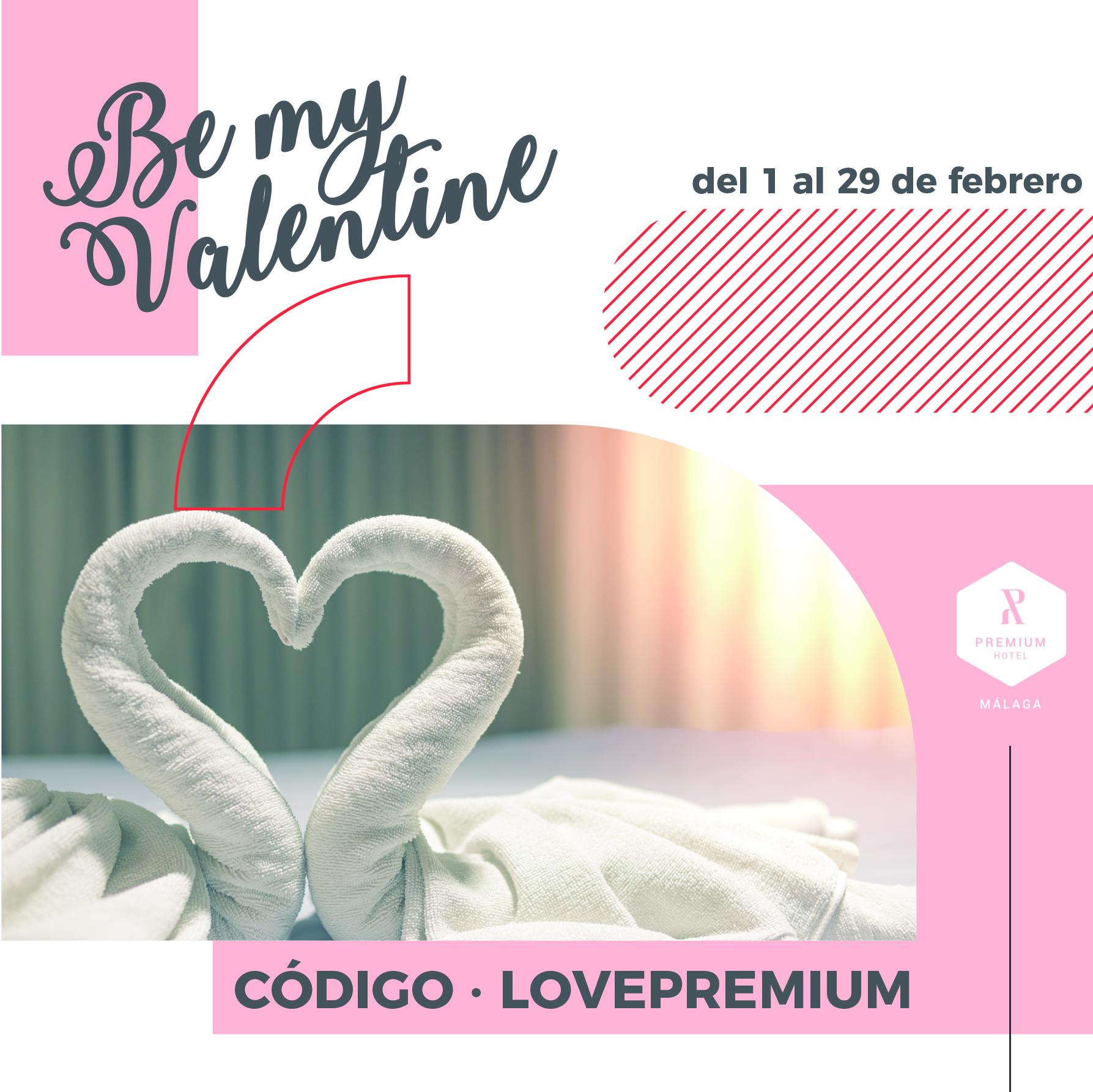 San Valentín en Hotel Málaga Premium