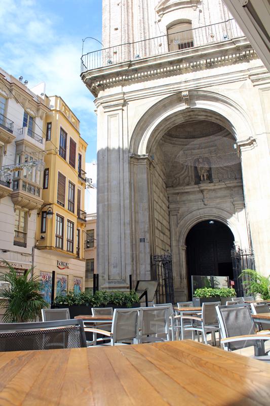 Hotel Malaga Premium terraza